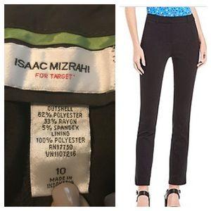 Isaac Mizrahi Pants - Isaac Mizrahi Brown Career Pants Size 10